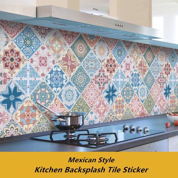 Bathroom, cabinetsticker, Kitchen & Home, hightemperatureresistant