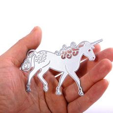 Steel, horse, art, collage
