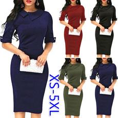 Mini, Slim Fit, office dress, Office