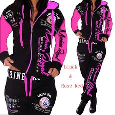 Fashion, pants, zippers, ladies suit