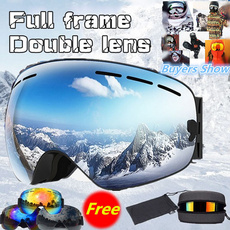 case, Goggles, Winter, Outdoor Sports