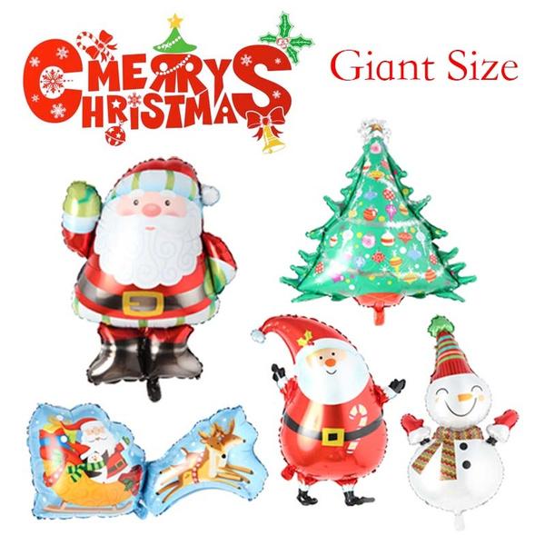 Box, christmasballoon, foilballoon, Christmas