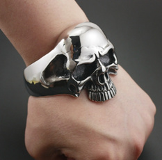 Steel, Fashion Jewelry, bikerbracelet, Stainless
