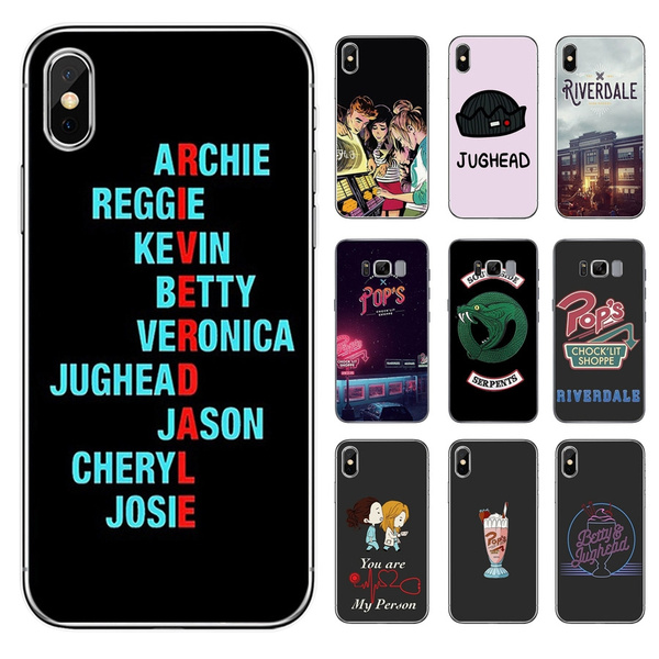 Riverdale South Side Serpents Snake Soft Silicone Phone Case for IPhone XS Max 6 7 8 Plus 5 5s Se 6s Fashion Black Girl Cover for Coque IPhone 7 | ...