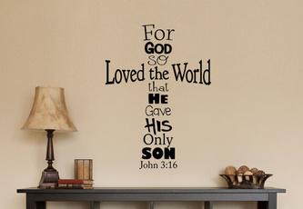 jesuschrist, bible, living room, Decoración