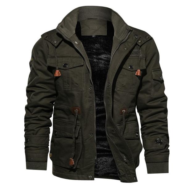 woolen, Casual Jackets, Outdoor, Winter