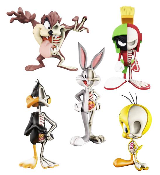 XXRAY Looney Tunes Diable De Tasmanie Vinyl Art Figure par Jason Freeny collection