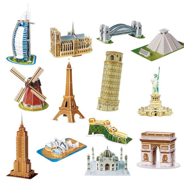 famousarchitecturemodel, architecturalmodelsupplie, Children's Toys, modelbuildingkitsamptool