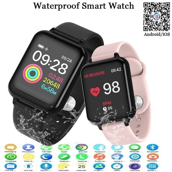 heartratewatch, smartwatche, bluetoothwatche, Waterproof Watch