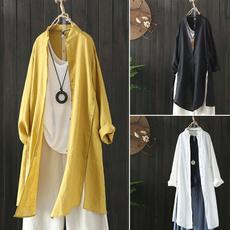 blouse, cardigan, Cotton Shirt, Shirt