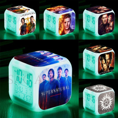 supernaturalclock, Night Light, Colorful, Gifts