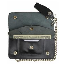 Wallet, biker, leather, mens wallet