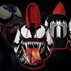 hooded, Cosplay, sweater coat, Spiderman