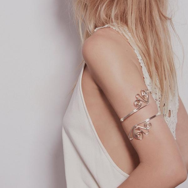 openbracelet, Silver Jewelry, Fashion, Jewelry