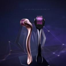 titaniummicroneedle, dermadermaroller, Makeup Tools, purple