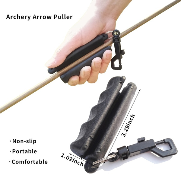 Black Silicone Arrow Puller Gripper Target RE show original title Details about  /Dioche Archery Arrow Extractor