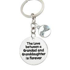 Love, familykeychain, grandadgift, grandson