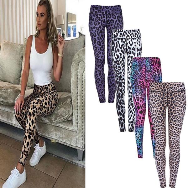 Leggings, Fashion, high waist, print leggings