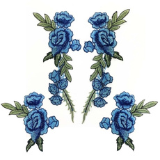 Blues, badgepatche, Fashion, Rose