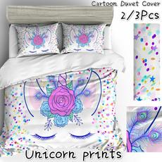 3pcsbeddingset, bedroomdecor, Bedding, Cover