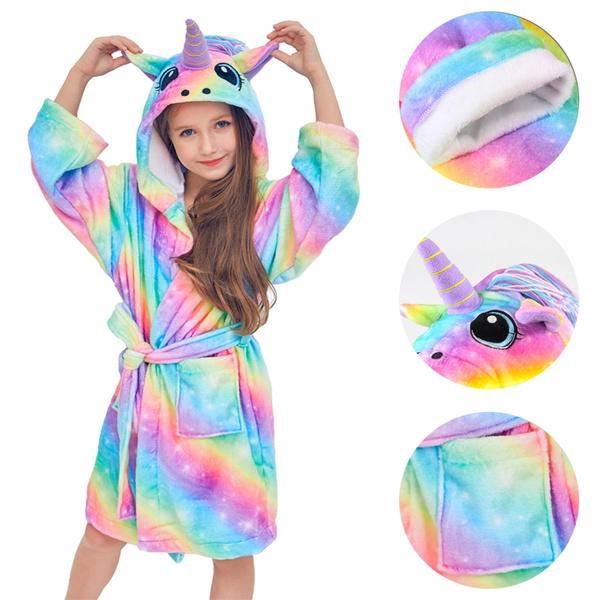 kids clothes, kidspajama, hoodedpajama, unicornclothe