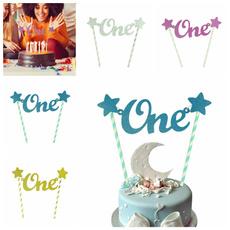 Baby, decoration, cakebuntingtopper, Handmade