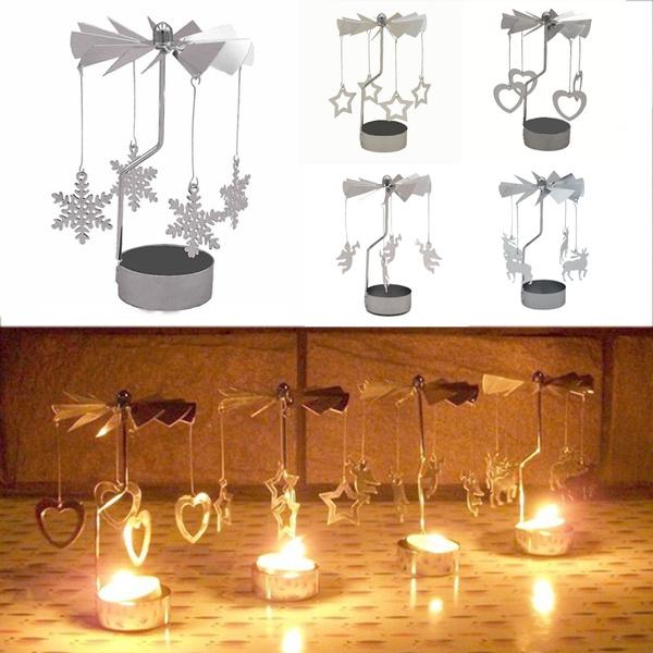 Candleholders, Home Decor, Vintage, metaltealight