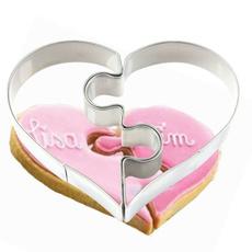 Heart, diycake, bakingtool, Stainless Steel