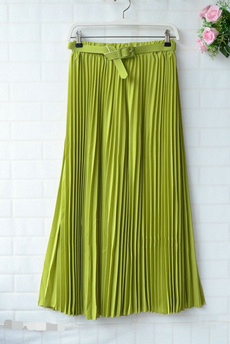 Waist, elastic waist, womenchiffonskirtdresse, Elastic