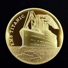 coincommemorative, silvercoin, art, titaniccoin