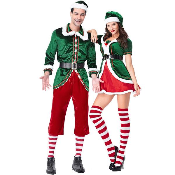 cosplaycostumeset, adultchristmascostume, Cosplay, mensantaclausesuit