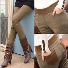 warmpant, thickenlegging, Leggings, elastic waist