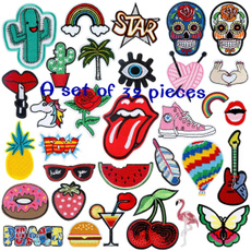 Iron, Clothing & Accessories, Moda, fabricsticker