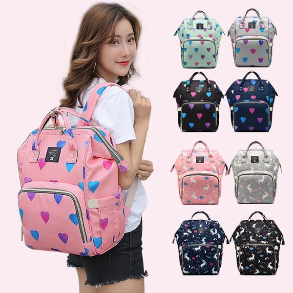 women bags, Backpacks, Love, Print
