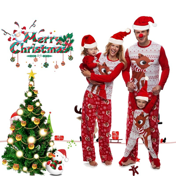 women's pajamas, Christmas, Family, Xmas