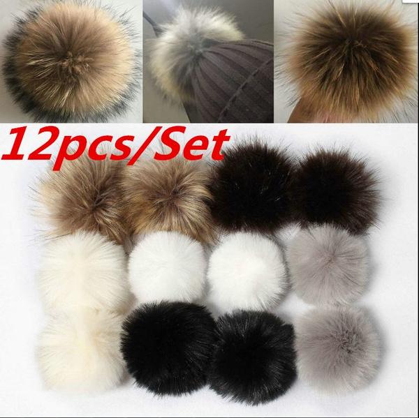 Fashion, fur, Jewelry, pompom