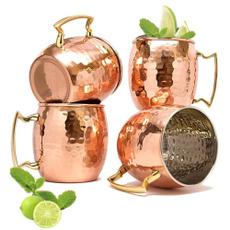 Brass, Copper, Coffee, copperplatedstainlesssteelmulemug