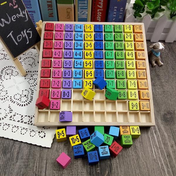 montessorieducation, montessori, Toy, 99multiplicationtable