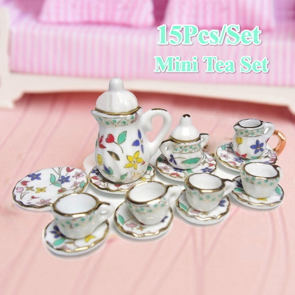 Pretend Play, Floral print, Colorful, Cup