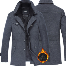 woolen coat, Fashion, trenchcoatformen, Winter