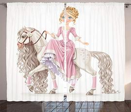 Decor, Princess, Shower Curtains, customshowercurtain