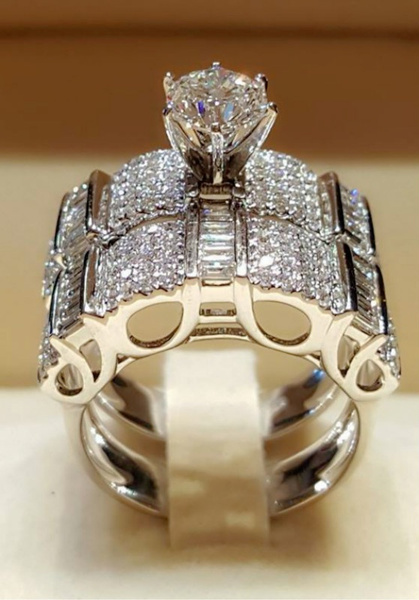 Sterling, Silver Jewelry, Fashion, wedding ring