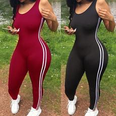 stripedbodycon, Fitness, Yoga, linebodysuit