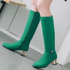 kneeboot, Plus Size, sexy shoes, high boots