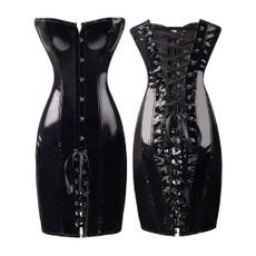 women sexy dress, slim dress, GOTHIC DRESS, Corset Dress