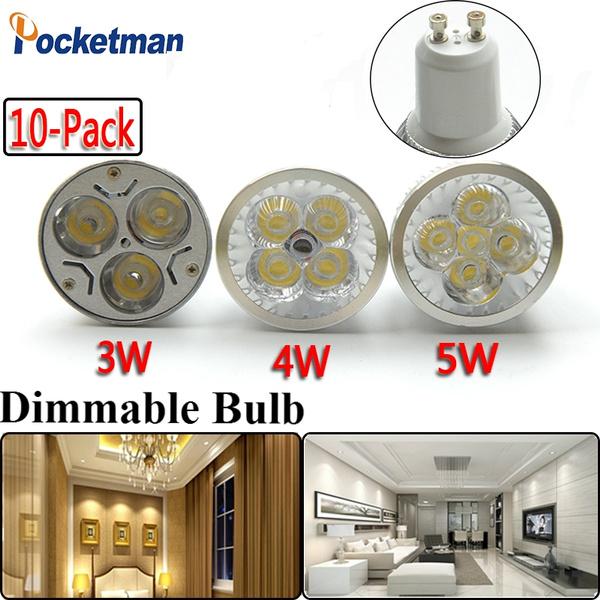 Indoor, ceilinglamp, gu10, dimmableledbulb