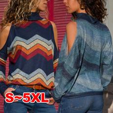 blouse, Plus Size, off the shoulder top, Shirt