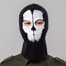 ghost, Hood, cosplaymask, skull