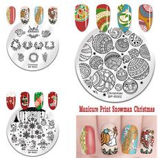 nail decoration, art, Christmas, Beauty