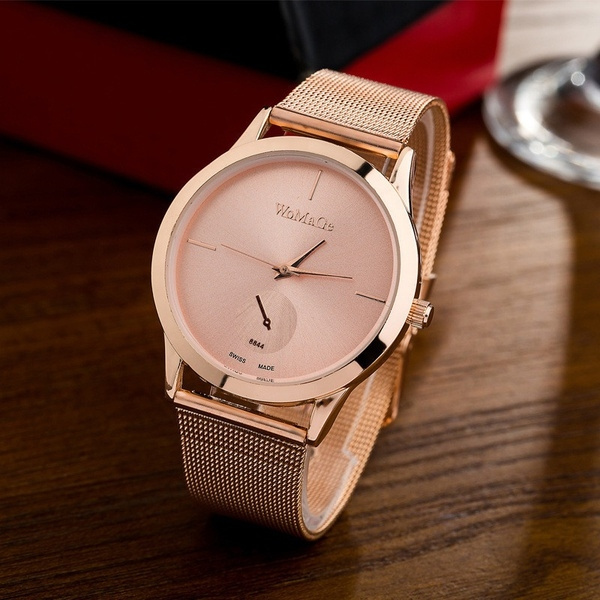 Steel, womendresswatch, rosegoldwatch, montrefemme